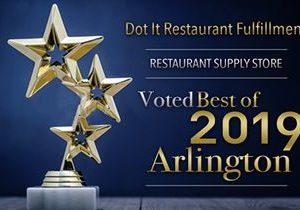 Dot It Restaurant Fulfillment Receives 2019 Best of Arlington Award