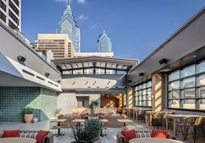 Pod Philly Hotel's Roll-A-Cover Retractable Rooftop Bar 'El Techo' is Now Open