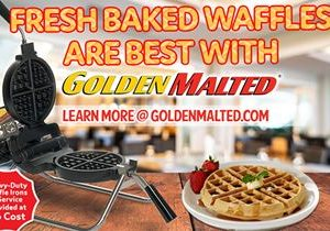 Serve America's Favorite Waffles with Golden Malted – It's Quick & Easy