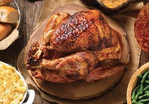 Feed the Whole Posse with Cowboy Chicken's Rotisserie Turkey Holiday Package