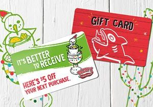 Fuzzy's Taco Shop Announces Holiday Gift Card and Bonus Card Campaign – Because Sometimes It's Better to Receive
