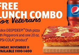 Little Caesars Pizza Treats Veterans and Military to Free HOT-N-READY Lunch Combo for Veterans Day