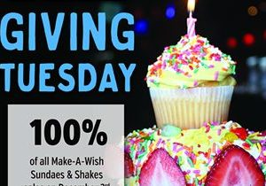Kings Dining & Entertainment Does Something Sweet for Make-A-Wish Foundation This Giving Tuesday