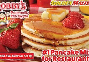 Add Robby's Buttermilk Pancakes to Your Menu – Golden Malted Makes it Easy