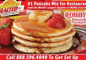 Add the Nations #1 Pancakes to Your Menu – Golden Malted, the World's Largest Waffle Supplier, Makes it Easy