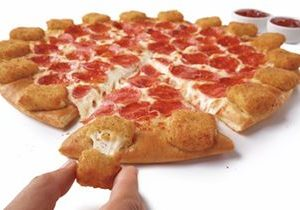 Pizza Hut's Mozzarella Poppers Pizza Takes America's Love Of Crust To The Next Level