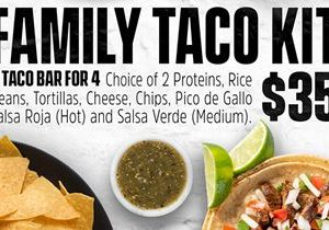 Chronic Tacos Introduces the Family Taco Kit