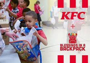 KFC Partners with Blessings in a Backpack to Prevent Child Hunger During School Closures