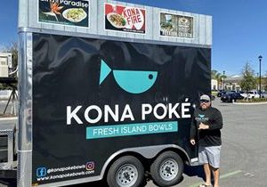 """Kona Poké Announces Debut of Food Trailer at """"Alive After 5"""" in Downtown Sanford This Thursday and New Location in Apopka"""
