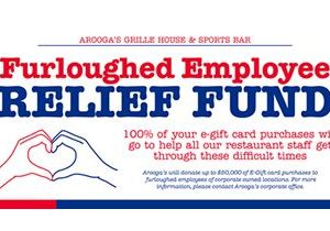 Arooga's Grille House & Sports Bar Will Sell eGift Cards and Donate 100% of Sales Directly to Its Employees