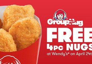 Wendy's Recognizes Individuals Across The Nation With A 'GroupNug'