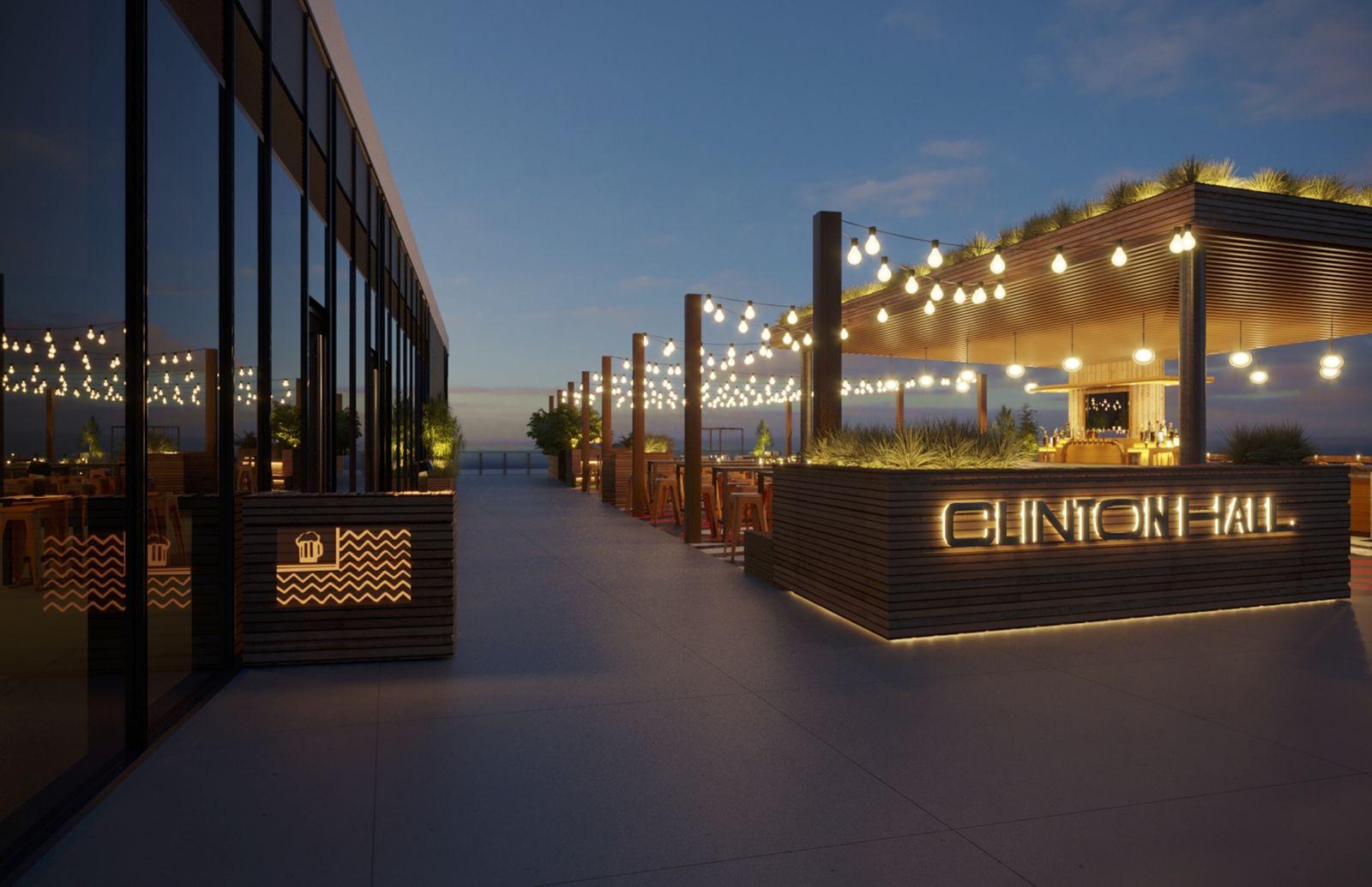 Empire Outlets élargit son portefeuille de produits alimentaires et de boissons avec l'ouverture du jardin de bière Clinton Hall cet été 2020