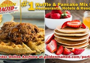 #1 Waffle & Pancake Mixes for Restaurants & Hotels – Golden Malted Makes it Easy