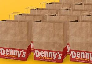 Delivery is on Denny's for the Rest of the Year!