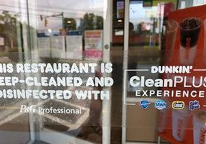 Dunkin' Becomes One of the First Quick Service Restaurants to Join the P&G Professional CleanPLUS Experience Program