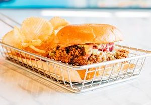 Curry Up Now Launches Its Popular Tandoori Fried Chicken Sandwich Nationwide