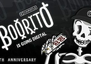 Chipotle's Boorito Goes Digital For its 20th Anniversary