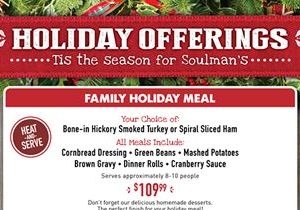 Home for the Holidays with Soulman's Bar-B-Que