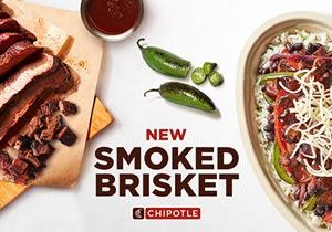 Chipotle Tests Smoked Brisket In Select Markets