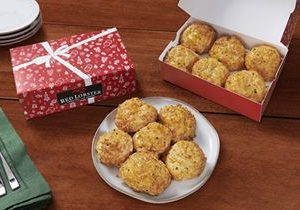 Red Lobster Releases the Hottest Gift For The Holidays – Limited-Edition, Gift Boxes Filled With Cheddar Bay Biscuits