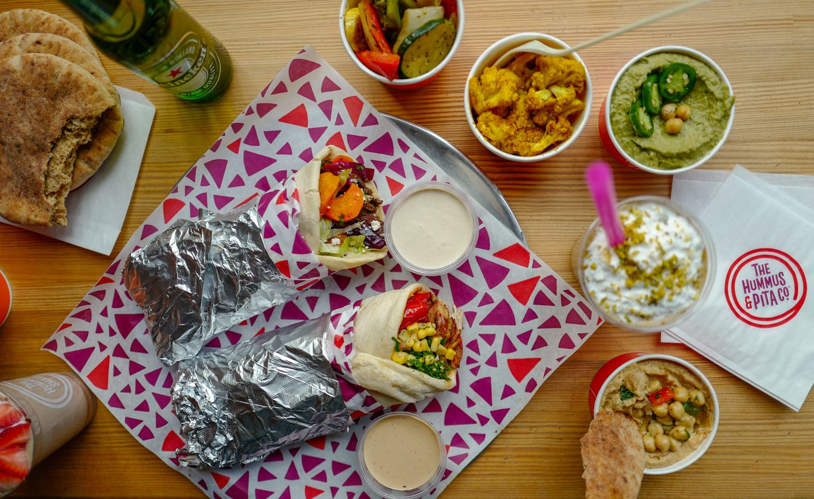 The Hummus & Pita Co. is celebrating the Grand Opening of their newest location in Huntsville, AL on Thursday, December 10th by giving away free meals to the first 50 customers.