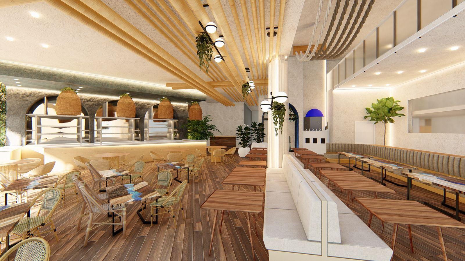 Το Heaven Mykonos, μια σύγχρονη μεσογειακή τραπεζαρία με τάπας και κρασί σε μια συναρπαστική δυναμική ατμόσφαιρα lounge, έκανε το ντεμπούτο του στην πολυσύχναστη γειτονιά City Place Dorall.