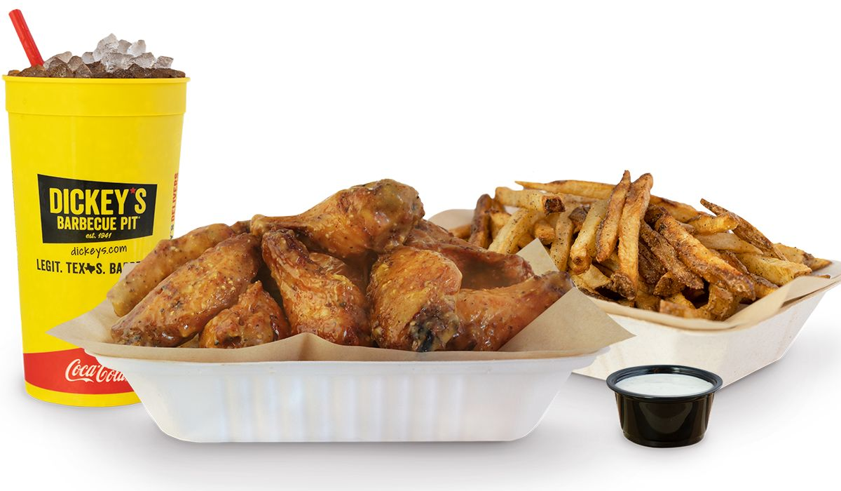Dickey's Barbecue Pit Launches First Virtual Brand - Wing Boss