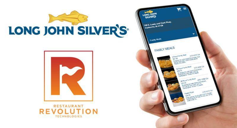 Long John Silver's Taps Revolution for Digital Ordering Platform