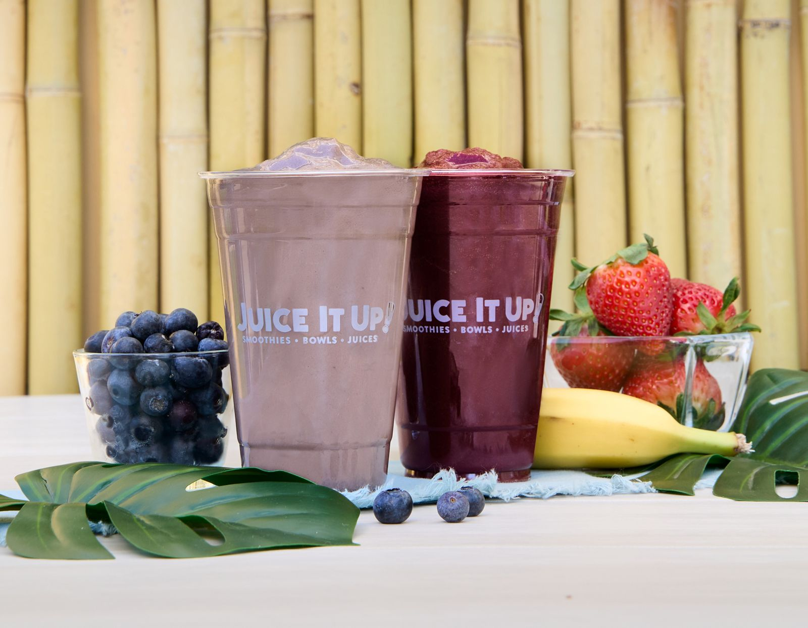 Two New Açaí Smoothies on Deck at Juice It Up!