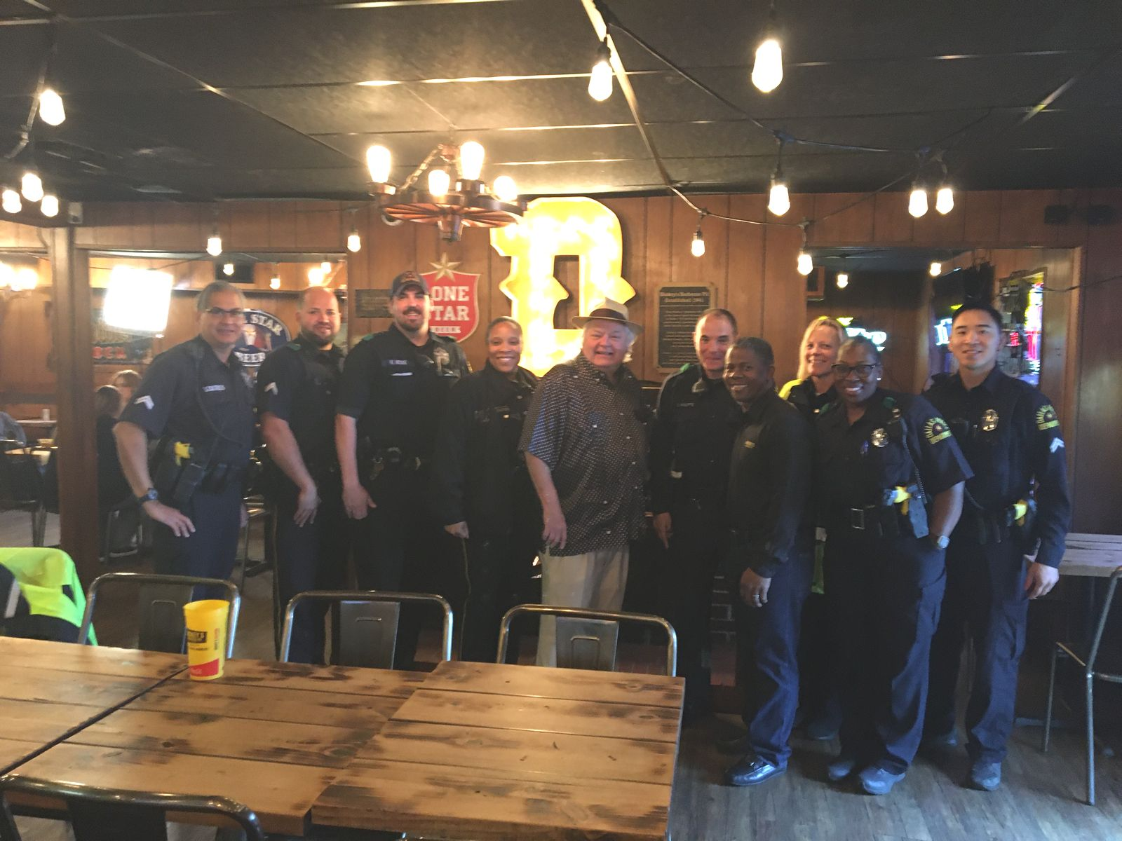 Dickey's Barbecue Pit Continues 80th Anniversary Celebration with Donation to Ennis Police Department