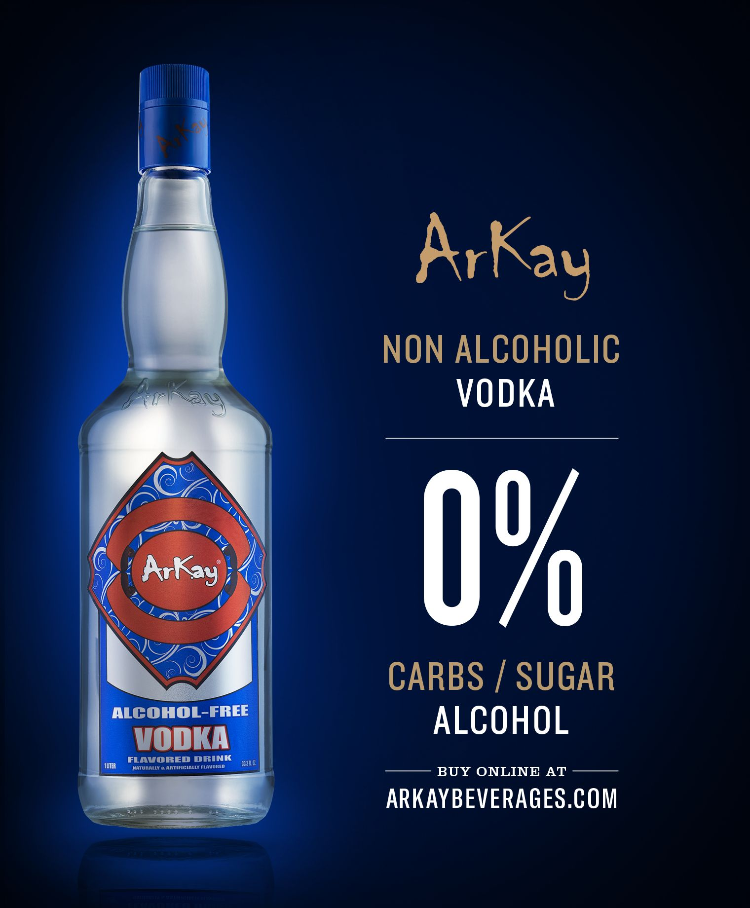 Arkay Zero Proof partners with DoorDash.com for alcohol free spirits delivery service