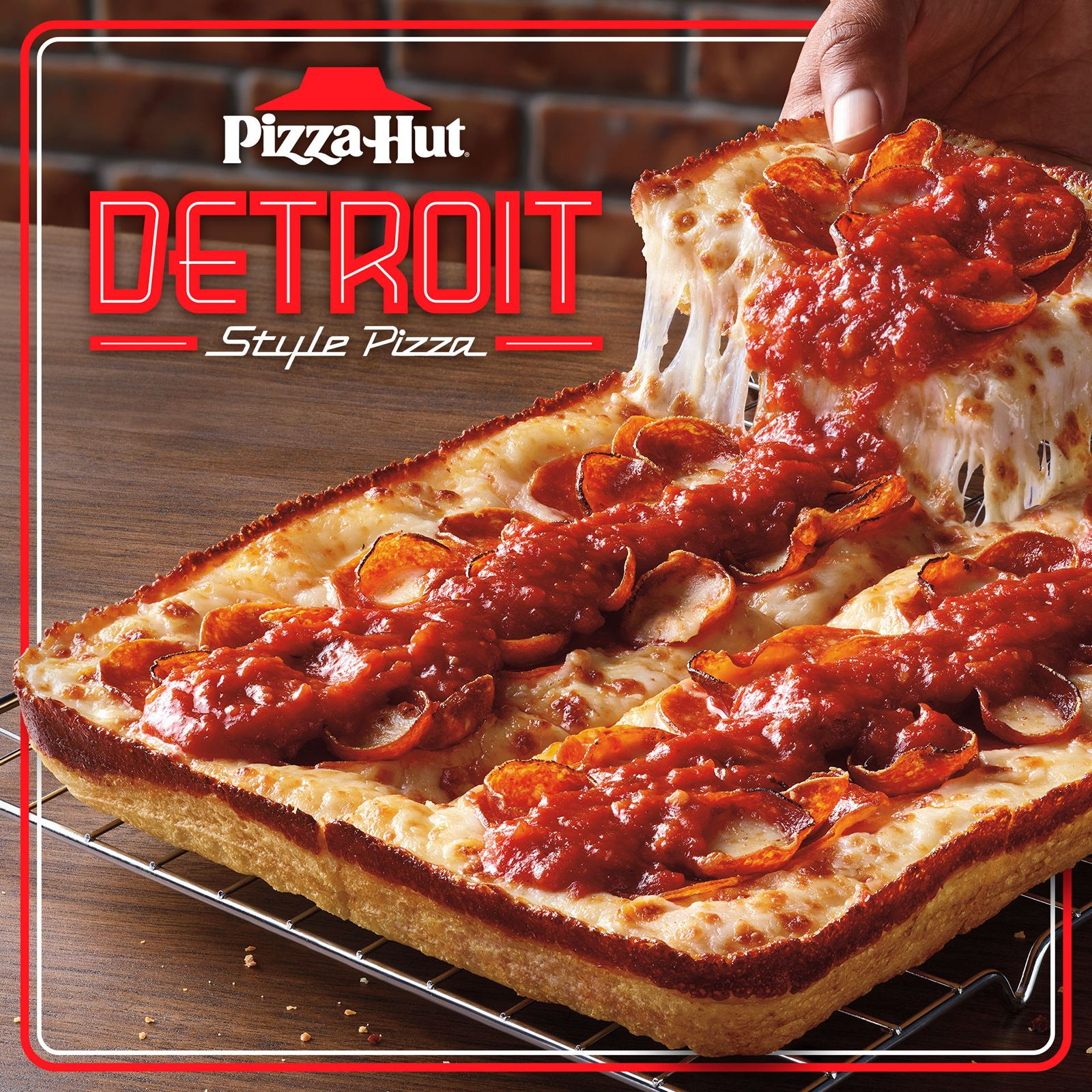 Back By Popular Demand - Pizza Hut Detroit-Style Returns Nationwide