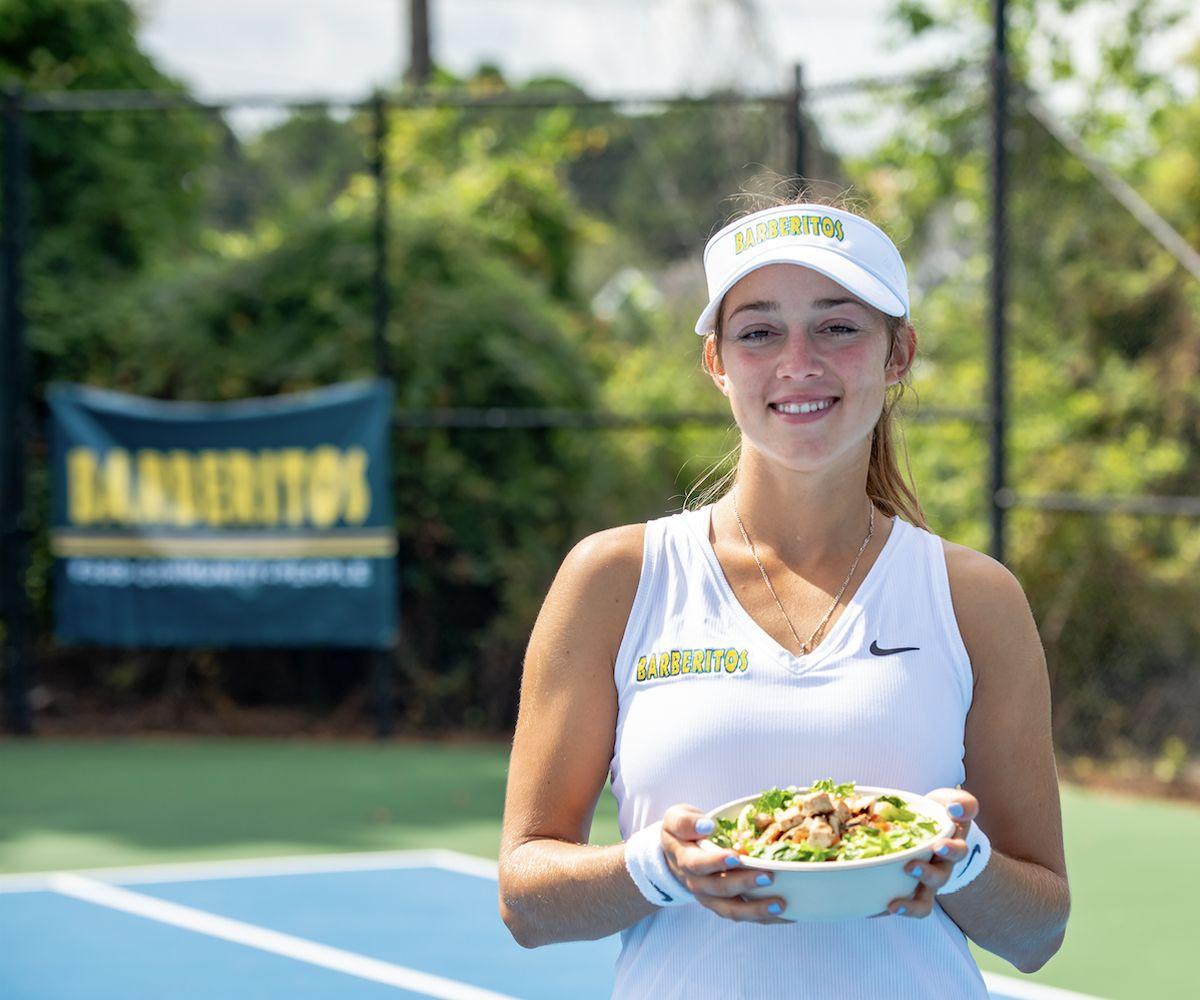 Professional Tennis Player Kat Jokic 'Serves' as Barberitos New Healthy, Lifestyle Menu Spokesperson