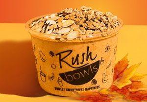 Rush Bowls Brings Back Pumpkin Spice Bowl for Fall