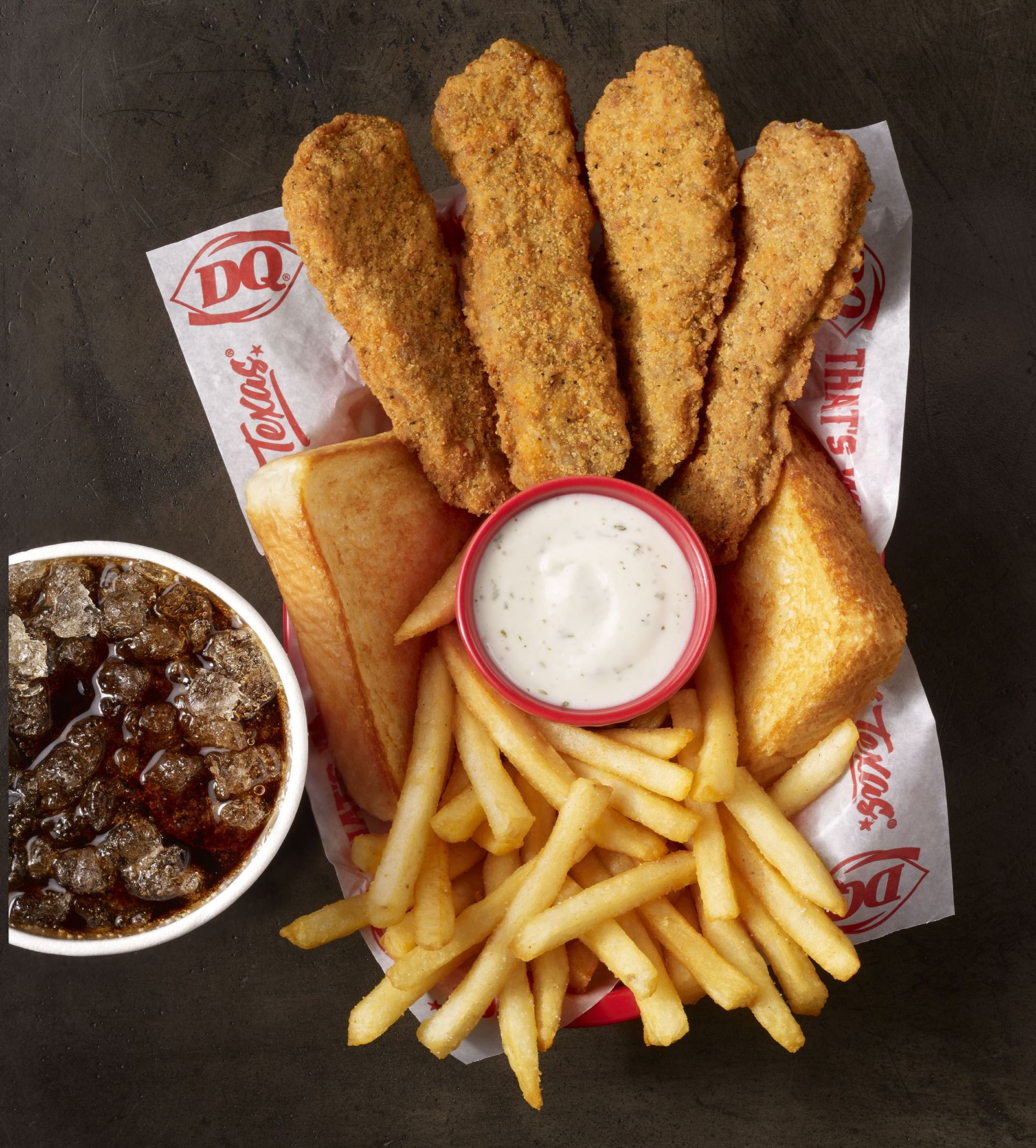 What's New at DQ Restaurants in Texas? Cheesy Steak Fingers Infused With Creamy Pepper Jack Cheese