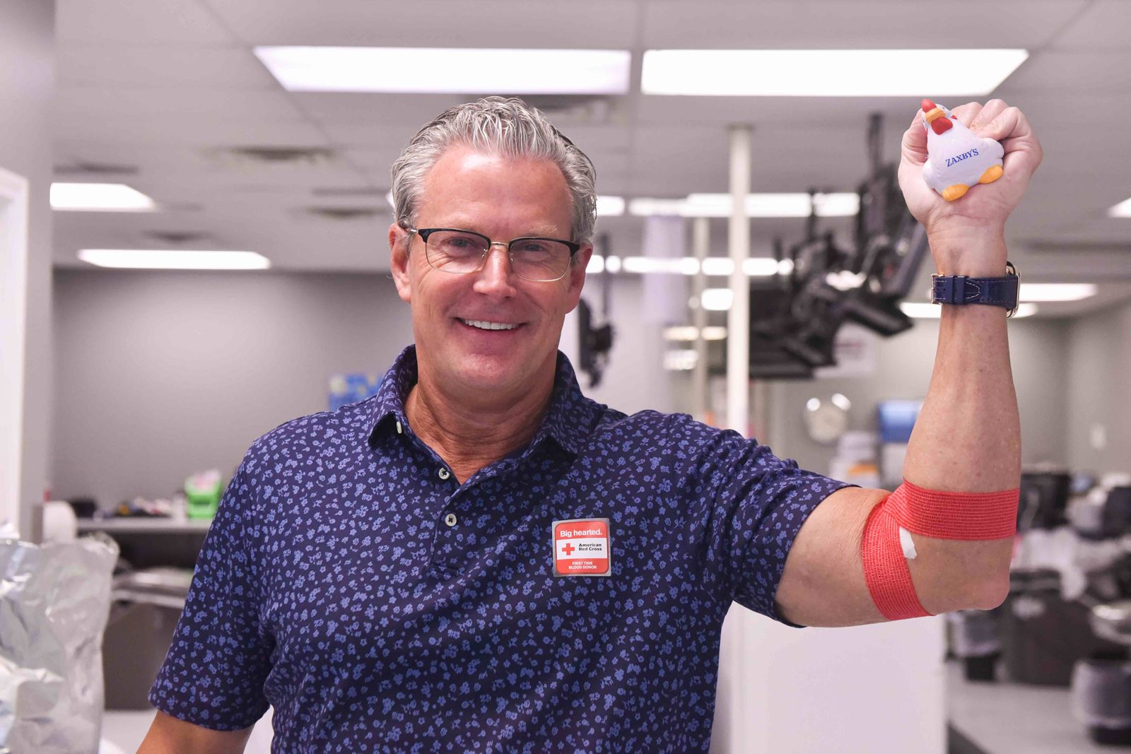Zaxby's and American Red Cross Team Up To Drive Blood Donor Turnout in October