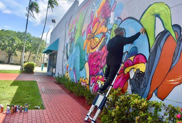 Diverse, World Class and Inspirational Mural Event!