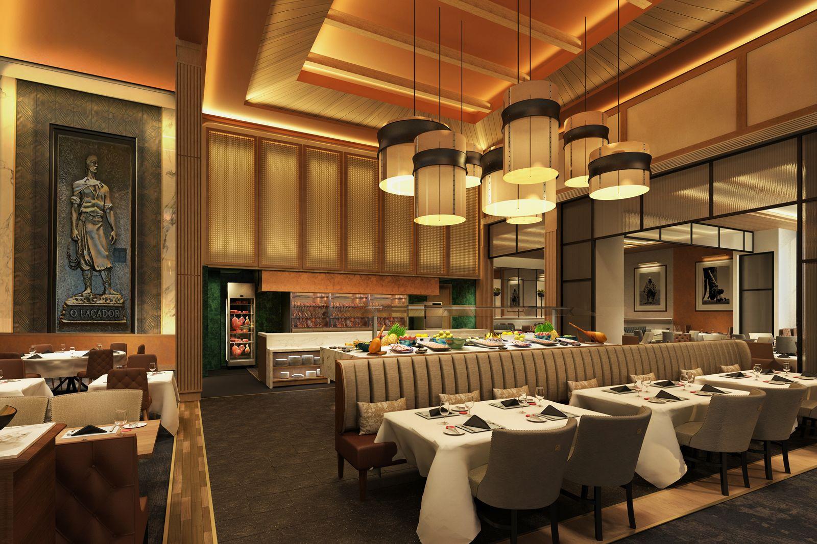 Fogo de Chão Utilizes Harrison's Expertise to Showcase Enhanced Design in Oak Brook Restaurant