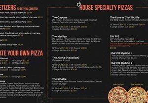 Menu Design Group Launches New Pizzeria Digital Menu Board Solutions
