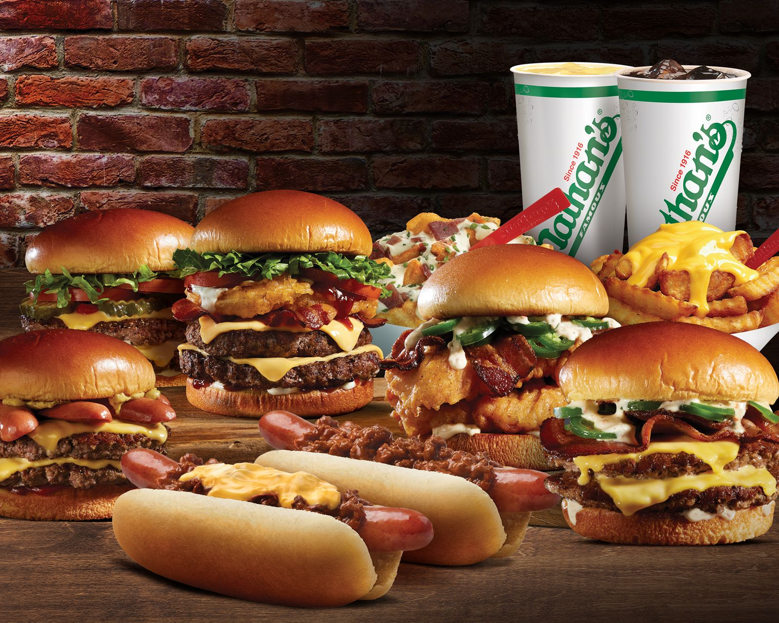 Nathan's Famous Announces Agreement with Branded Virtual Kitchens