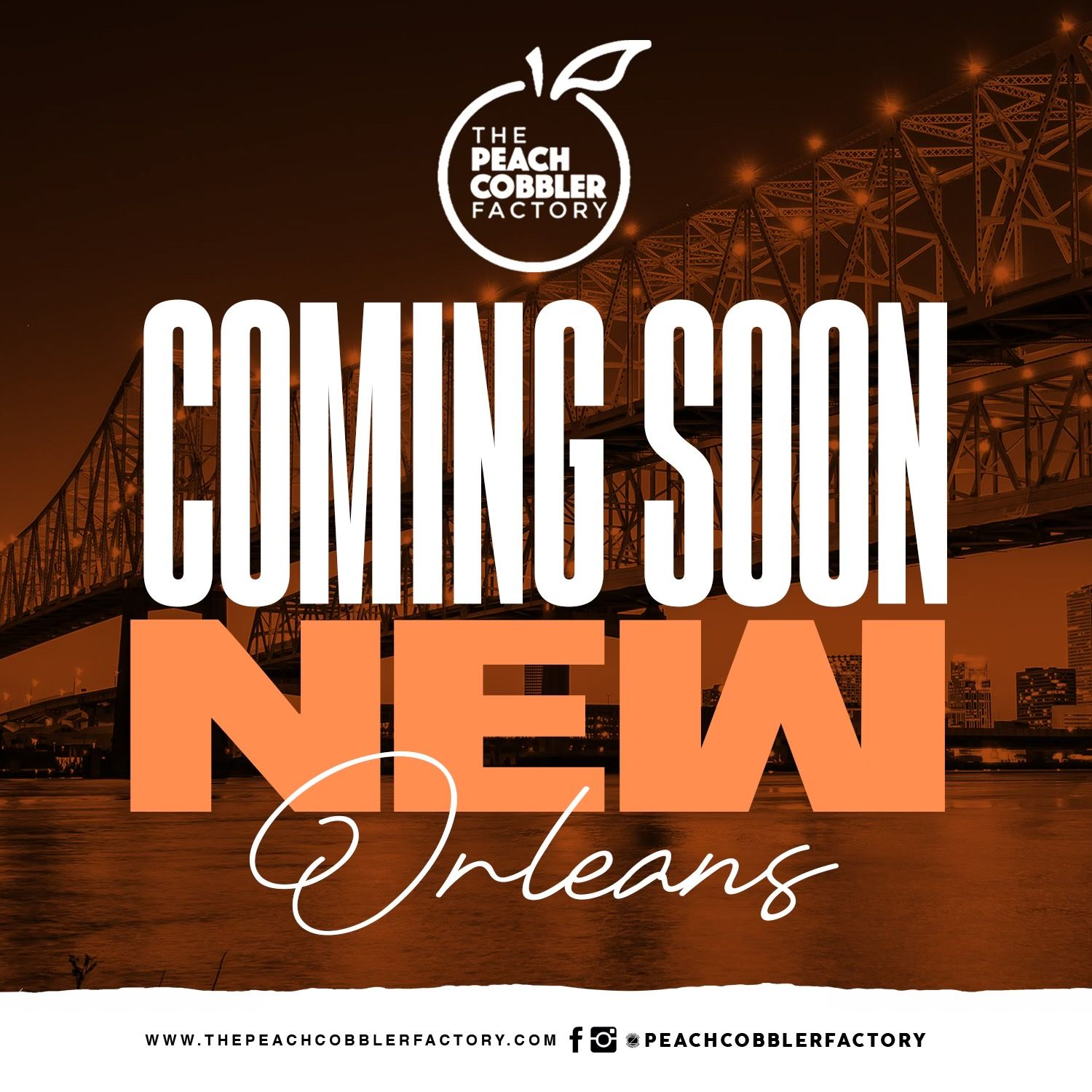 The Peach Cobbler Factory Continues Rapid Expansion With Four New New Orleans Locations
